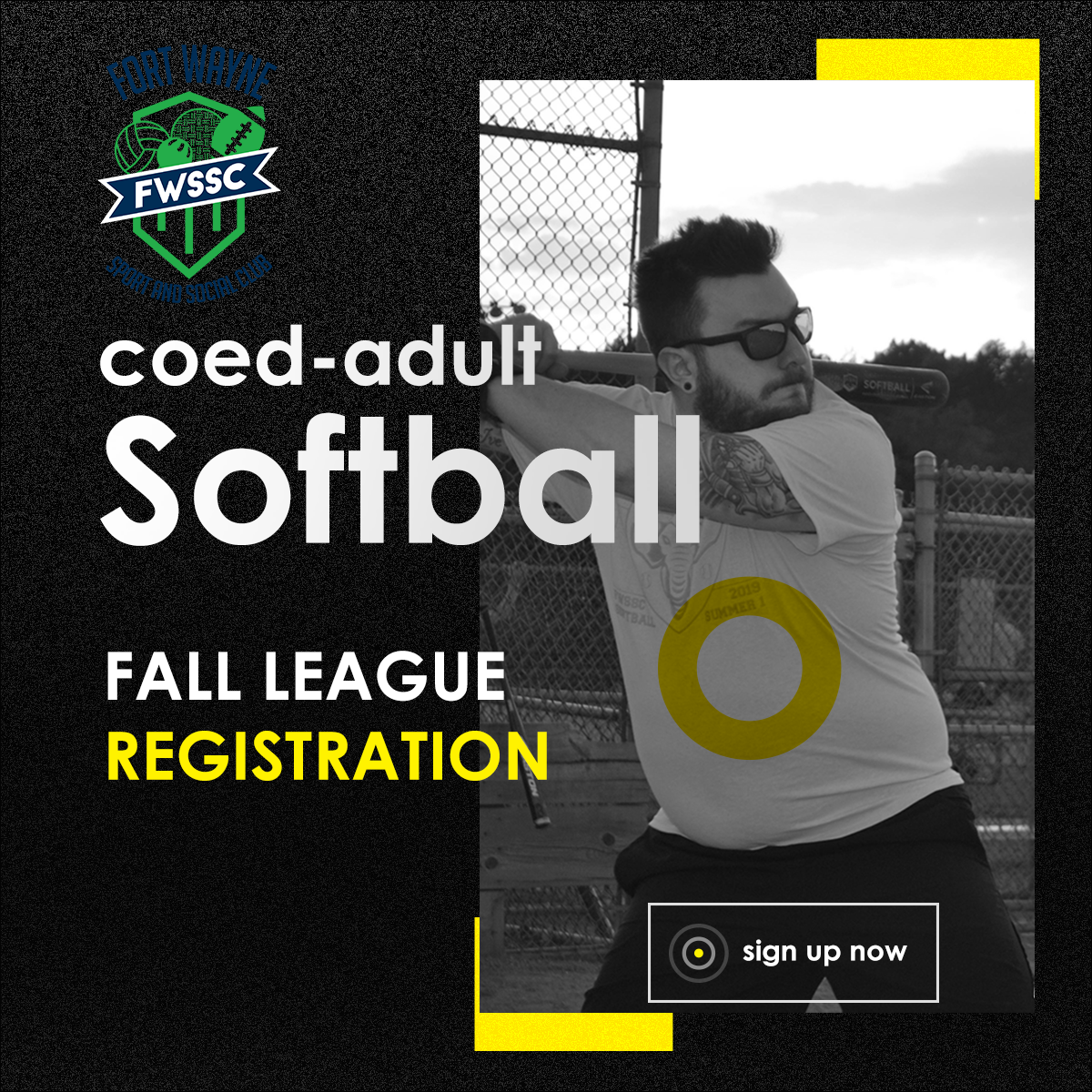 fort wayne sport and social coed adult softball league