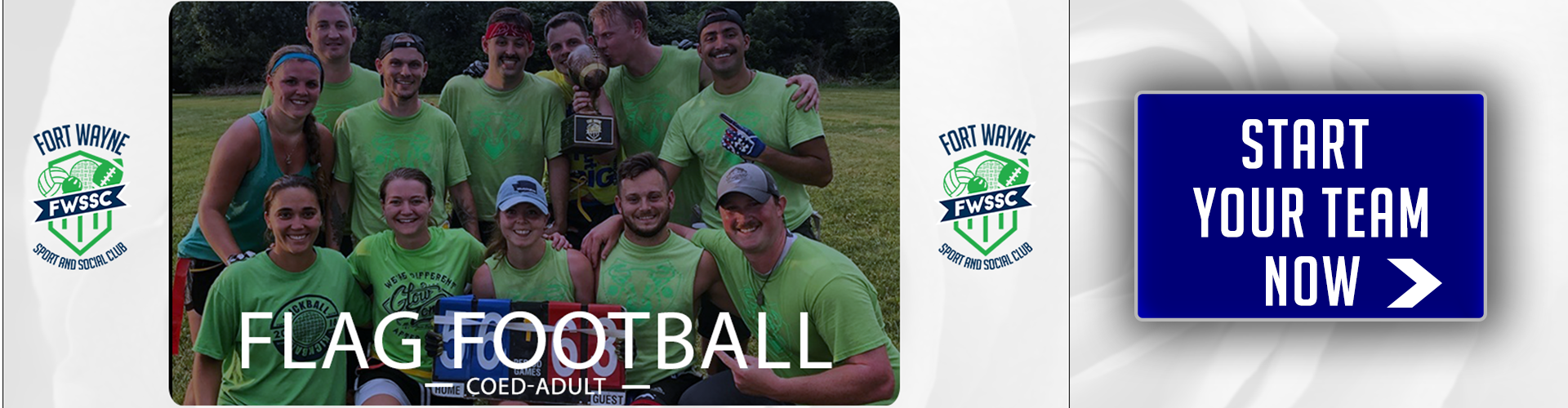 fort wayne sport and social flag football league registration 2019